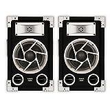 Acoustic Audio GX-400 PA Karaoke DJ Speakers 1200W 2 Way Pair
