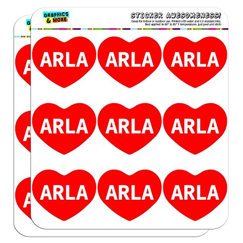 graphics-and-more-i-love-heart-arla-planner-calendar-scrapbooking-crafting-stickers-18-2-clear-stick