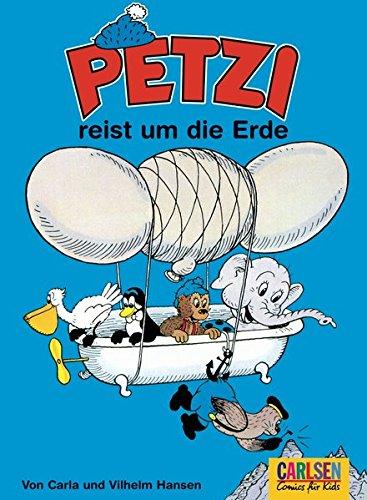 Petzi, Bd.11, Petzi reist um die Erde