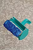 Bueer 5'' Patterned Paint Roller Decorative Texture Roller With Single Color Painting Machine (Birds and Flowers)