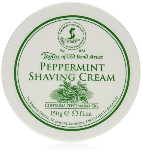 Taylor of Old Bond Street Peppermint Shave Cream (5.3 (Mint Shaving Cream)