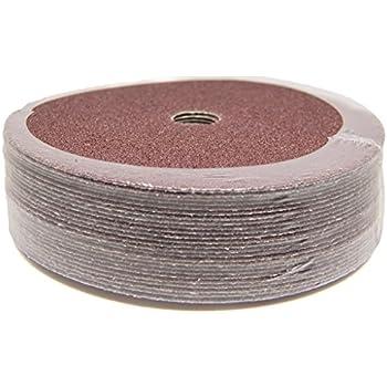 Sungold Abrasives 17207 5-Inch x 7//8-Inch Centerhole 100 Grit Aluminum Oxide Fibre Disc 25-Pack