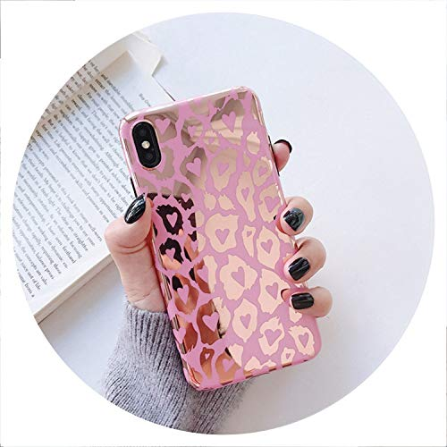 Best Gcase Watch Bands - Luxury Leopard Print Laser Phone Cases