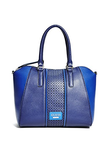 GUESS Women's Arvin Satchel Navy Multi - The Guess Brand 24