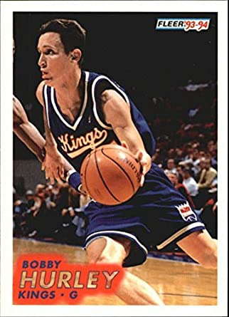 f1812e1f4c02 Amazon.com  1993-94 Fleer  372 Bobby Hurley RC  Collectibles   Fine Art