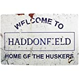 Halloween: Haddonfield Movie Metal sign by Arcane Store