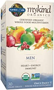 Garden of Life My Kind Organic Men's Daily Multivitamin Tablets - 30ct
