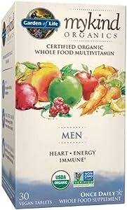 Garden of Life My Kind Organic Men's Daily Multivitamin Tablets - 30ct