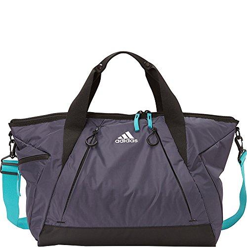(adidas Studio II Duffel (Trace Blue/Hi-Res Aqua/Black))