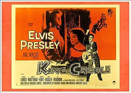 4212a27cc864f Elvis Presley - King Creole' (Landscape) - Fantastic A4 Glossy Print ...