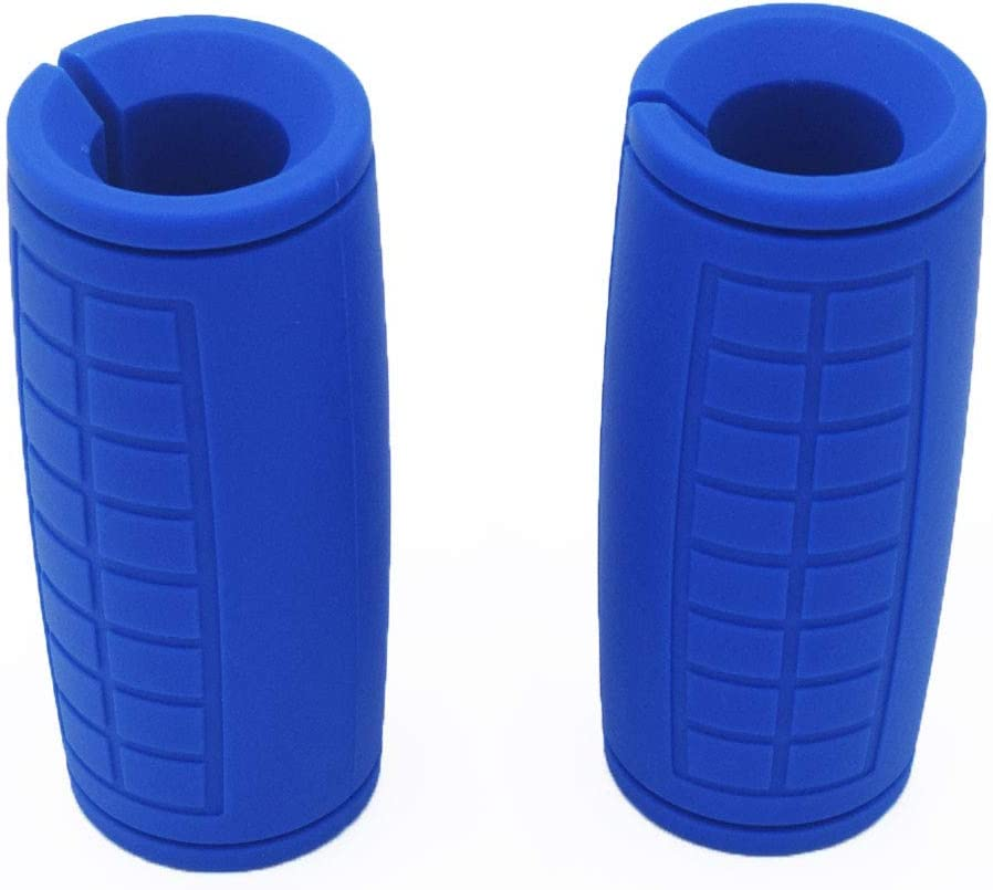Fat Grips Barbell Grips Thick Bar Adapter Muscle Builder Weightlifting Fat Grips yuhqc Dumbbell Grips