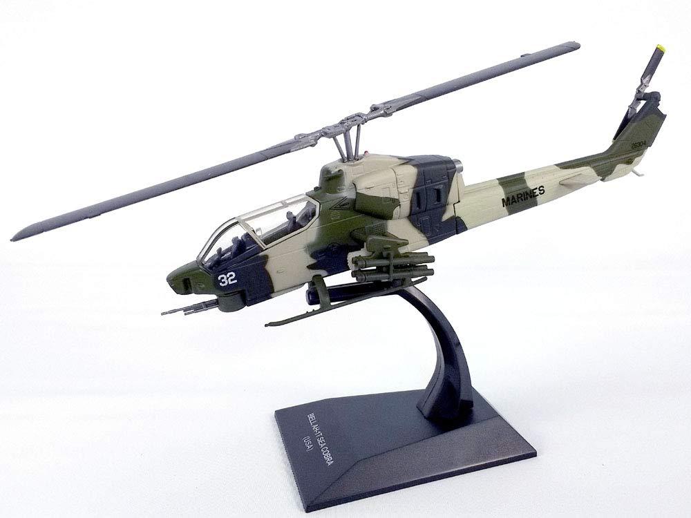 Bell AH-1T (AH-1) Sea Cobra - Marines - 1/72 Scale Helicopter Model
