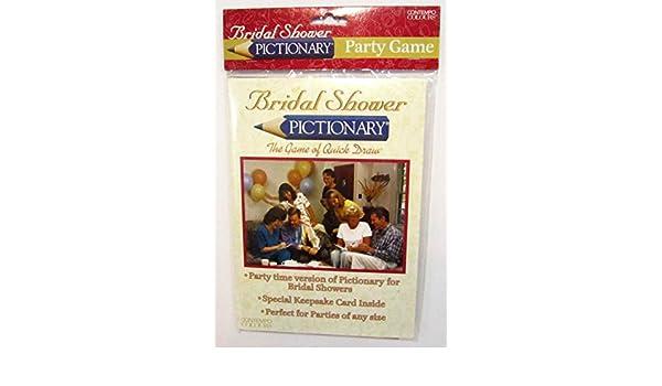 amazoncom bridal shower pictionary toys games
