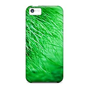 Kingsface Awesome Green Green Grass Flip case cover With kLlQqls0QT7 Fashion Design For Iphone 5c