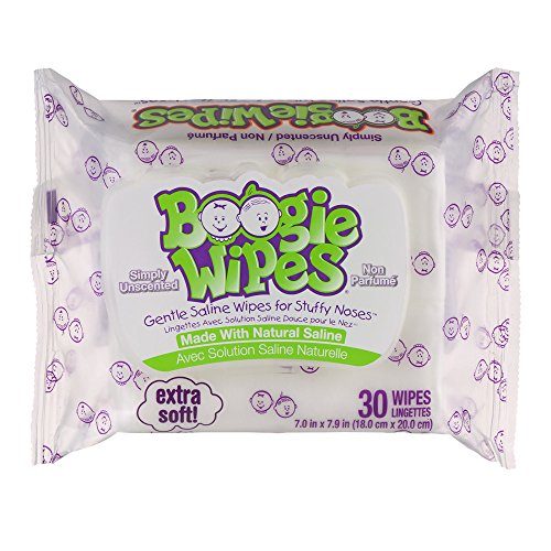 Boogie Wipes Soft Natural Saline Wet Tissues For Baby And