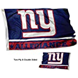 WinCraft New York Giants Double Sided Allegiance Flag For Sale