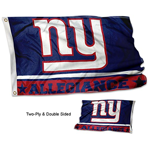 WinCraft New York Giants Double Sided Allegiance Flag