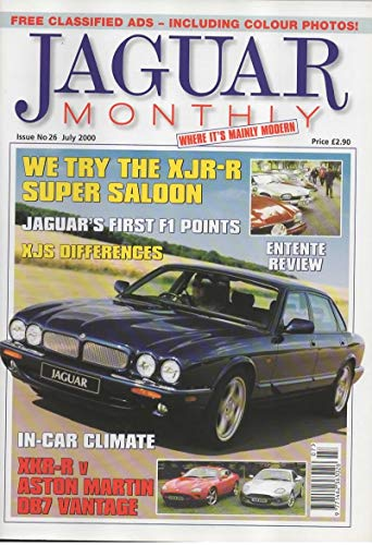 Jaguar Monthly Magazine, July 2000 (Issue No 26)