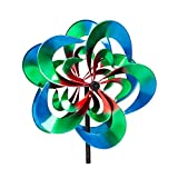 Evergreen Serentiy Outdoor Safe Kinetic Wind Spinning Topper - Pole Sold Separately