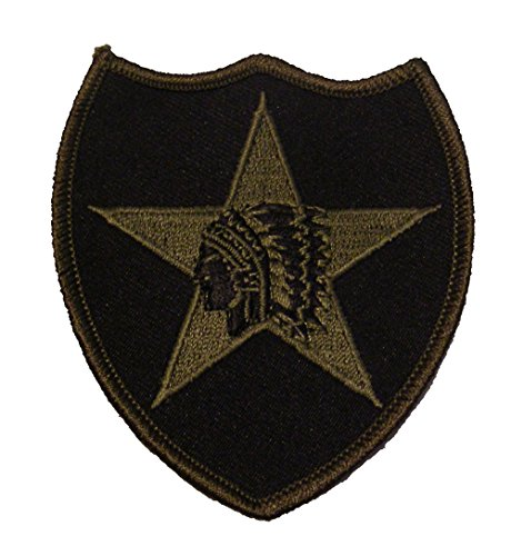 2nd Infantry Division Shoulder Style Patch - 3