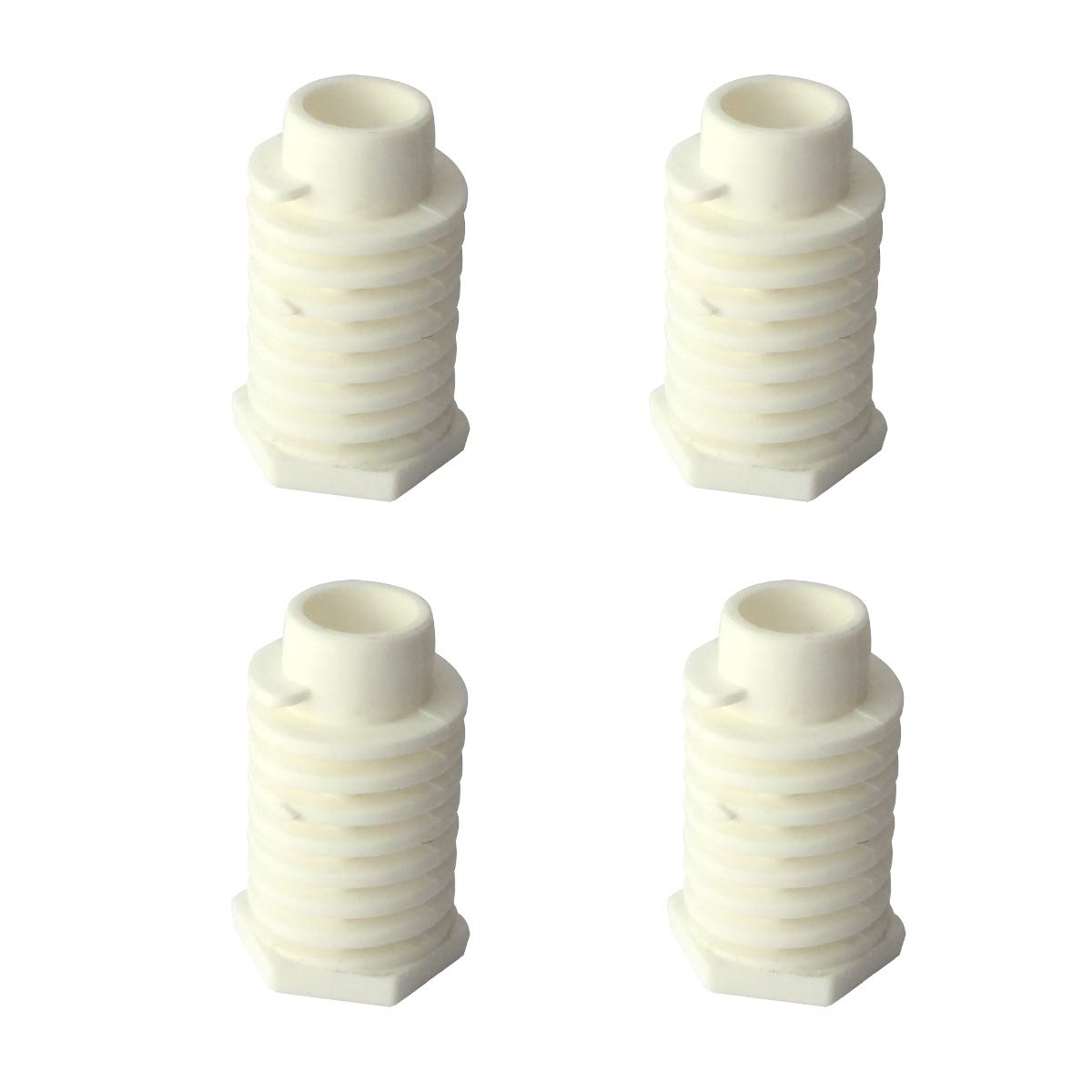 LONYE 49621 Dryer Leveling Foot for Whirlpool Kenmore Maytag AP4295805 PS1609293 (Pack of 4)