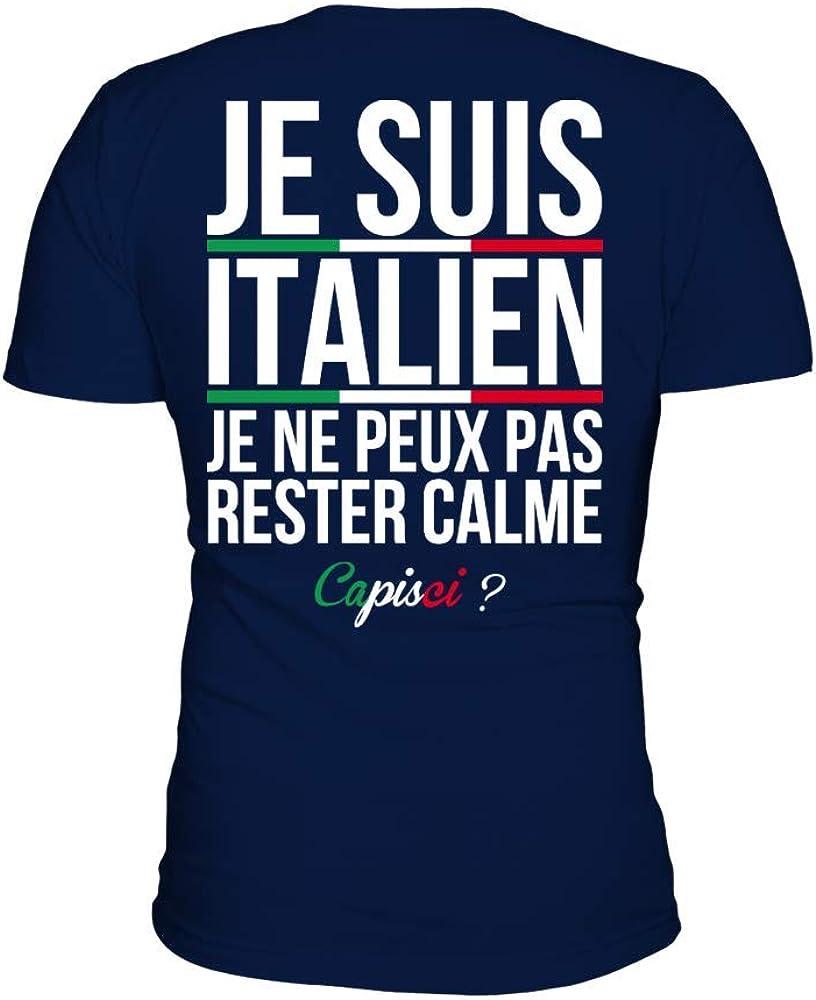 Je ne peux pas rester Calme je suis canadien T-shirt
