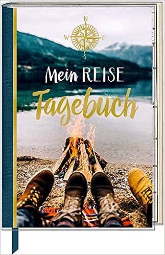 Eintragbuch mit Sammeltasche Mein Reisetagebuch