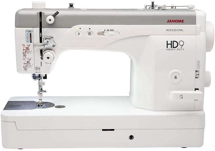 Janome HD9 - Máquina de coser profesional: Amazon.es: Hogar