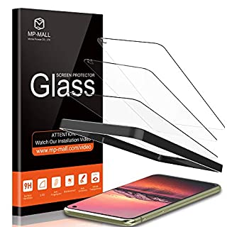 """MP-MALL [3-Pack] Screen Protector for Samsung Galaxy S10e 5.8"""" Tempered Glass [Easy Installation Frame] (Not for Samsung Galaxy S10 / S10 Plus)"""
