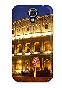 Tpu Shockproof/dirt-proof City Of Rome Cover Case For Galaxy(s4)