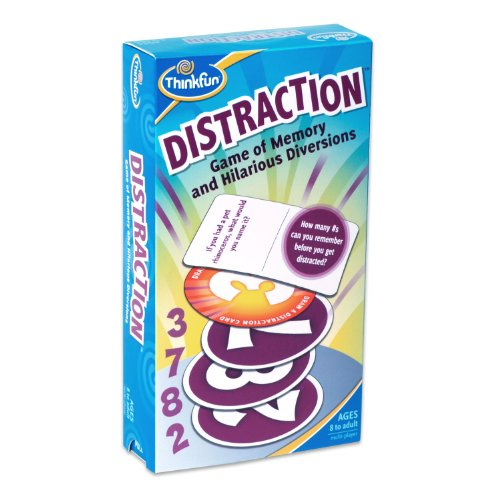 Thinkfun Distraction Card Game (Swish Card Game)