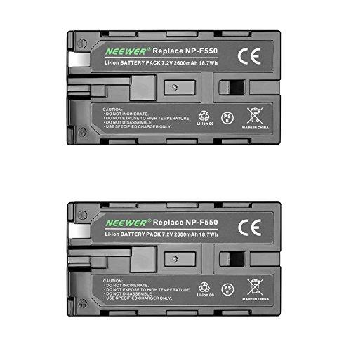 Neewer 2600mAh Replacement HandyCams Nanguang