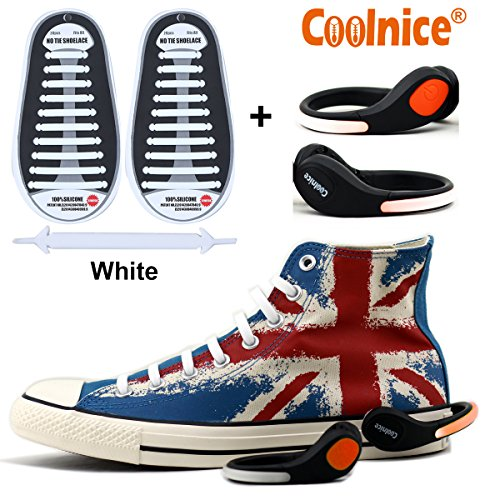 Coolnice® No Tie Shoelaces for Adults and Kids - Kids Melo Shoes