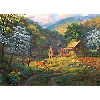 Cobblehill 80045 1000 Pc Country Blessings Puzzle Vari