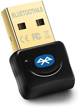 Maxesla Adaptador Bluetooth para PC, 4.0 USB Bluetooth PC, Bluetooth Transmisor y Receptor para PC con Windows XP/7/8/10/Vista, Compatible con ...