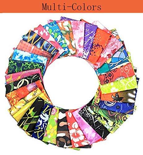 Qinckon Unisexe galaxie /étoiles /étoil/ées de la nuit brillent dans lobscurit/é de minuit foulard multicolore imprim/é foulards bandeaux Bandana