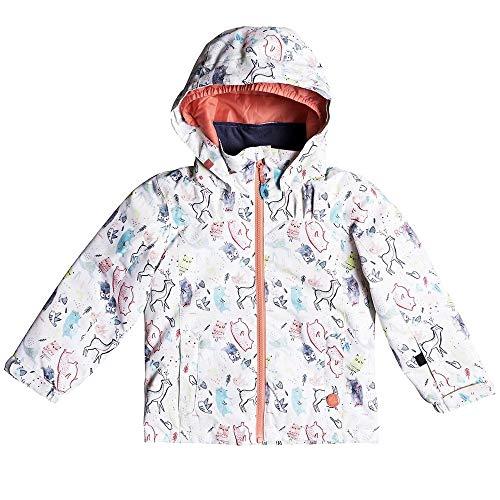 Roxy Girls' Toddler Mini Jetty Snow Jacket,