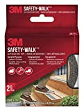 3M Safety-Walk Slip Resistant Tread, Black, 2-in by