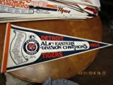 1984 Detroit Tigers player scroll pennant AL Eastern Champs