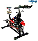 Leeway NB-S3 Exercise Fitness Spin Bike For Home Gym/Elliptical Trainer