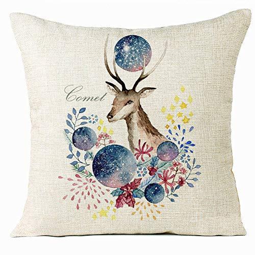 Pausseo Merry Christmas Pillowcase, Xmas Sock Pillow Covers