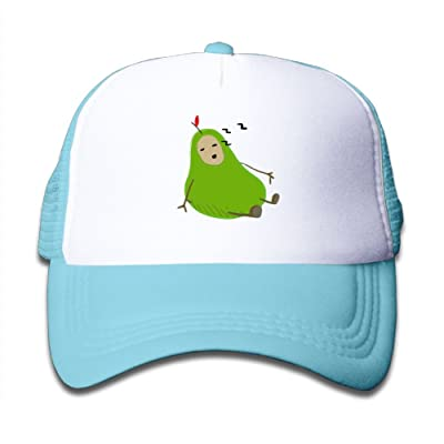Aiw Wfdnn Mesh Baseball Hats Toddler Funny Pear Sleeping Cute Adjustable
