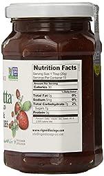 Rigoni Di Asiago Fiordifrutta Organic Fruit Spread,  Strawberry,  8.82 Ounce, (Pack of 6)