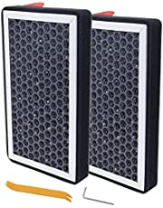 Woopeey Replacement for Tesla Model 3 Model Y Air Filter HEPA Carbon Air Conditioner Cabin Air Filter for Model Y 2020 2021,for Model 3 2017 2018 2019 2020 2021, 2 Pack