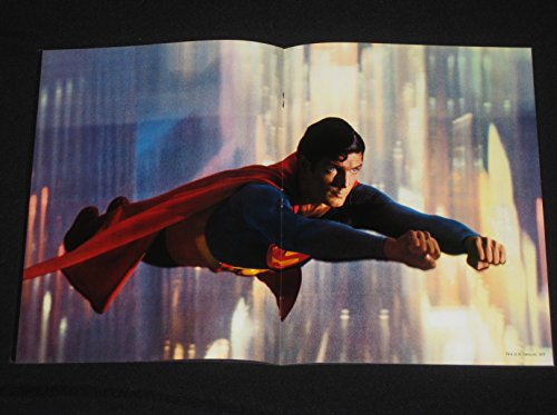 SUPERMAN 1978 CHRISTOPHER REEVE MARLON BRANDO SCI-FI SOUVENIR PROGRAM!!
