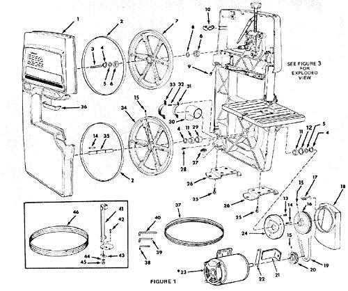 Vintage Sears Craftsman 12 Band Saw Sander Lower Wheel Drive Shaft