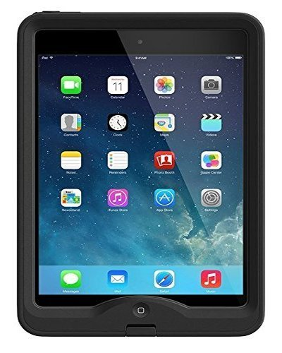 LifeProof NUUD iPad Mini 1 Waterproof Case - Retail Packaging - BLACK