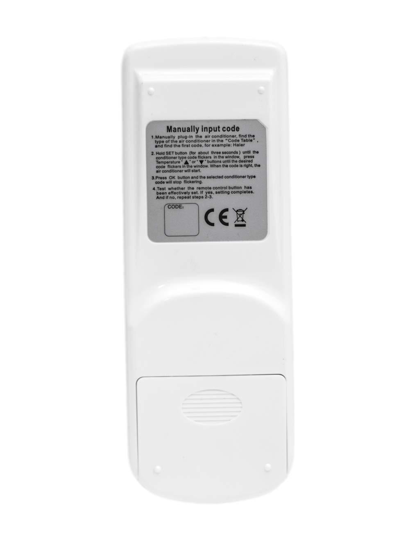 Mando a Distancia UNIVERSAL 1000 En 1 Para Aire Acondicionado CASA Fácil AC-188S: Amazon.es: Hogar