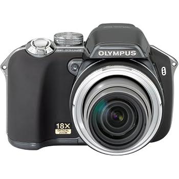 Olympus SP-550UZ 7.1MP Digital Camera with Dual Image Stabilized 18x Optical Zoom