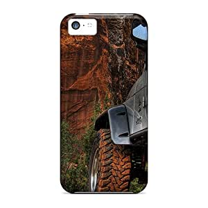 Iphone 5c Jeep On The Road Print High Quality Frame Cases Covers